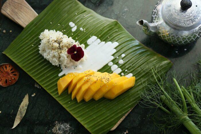 Mango Sticky Rice photo via Pixabay