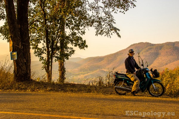 Exploring Thailand's far North by motorbike