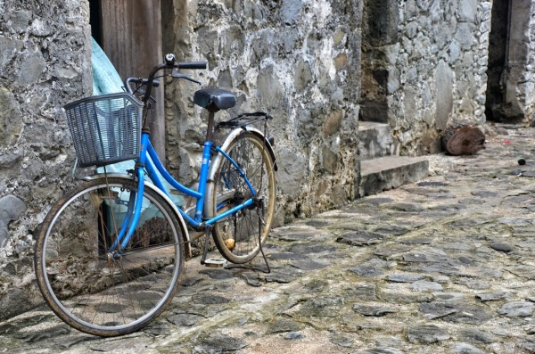 Bicycle in Sabtang Island