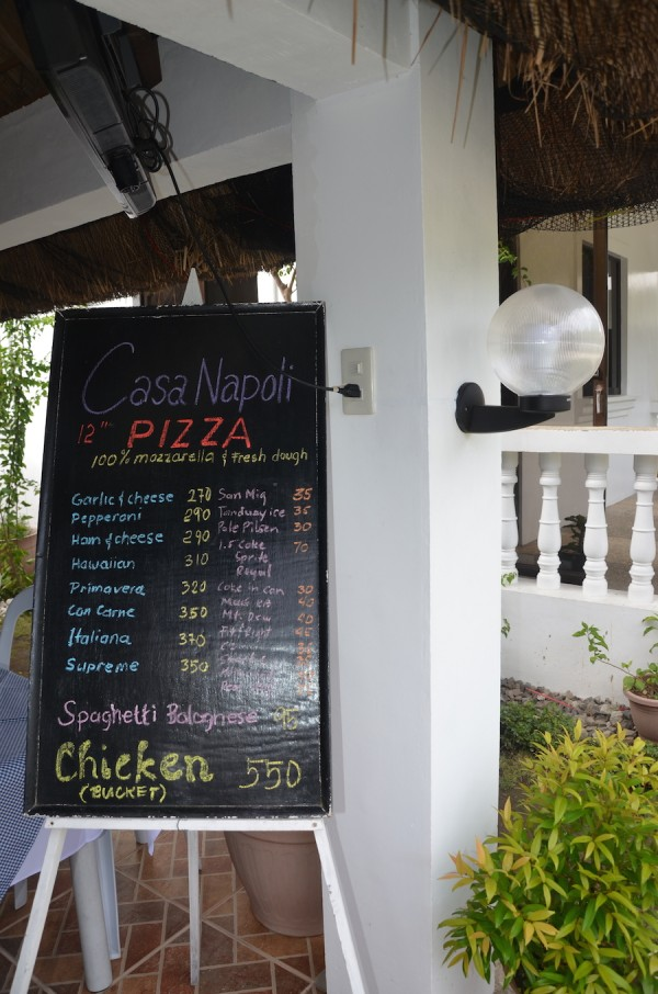 Casa Napoli Pizza House in Batanes