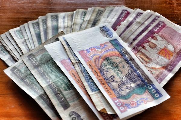 Currency in Burma