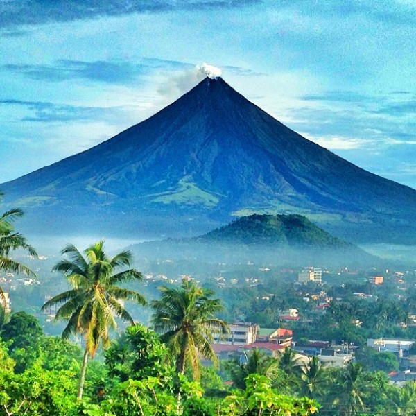 Beautiful Mayon Volcano