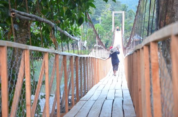 Hanging Bridge in Brgy. Zabali