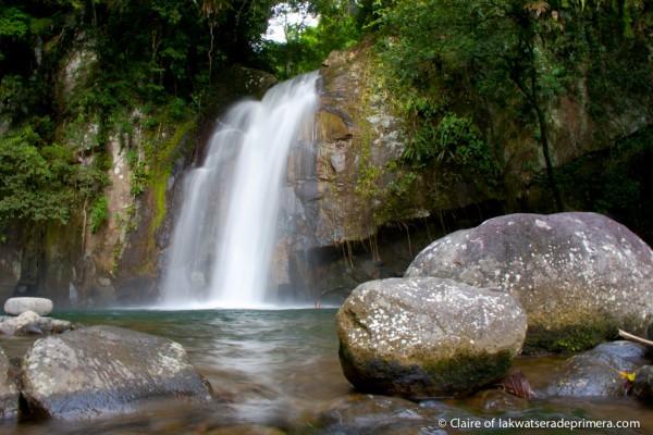 Vera Falls in Malinao Albay