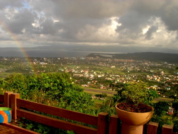 View from Ligñon Hill(photo courtesy of Wikipedia)