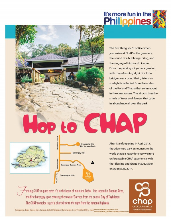 Hop to Chocolate Hill Adventure Park in CarmenBohol
