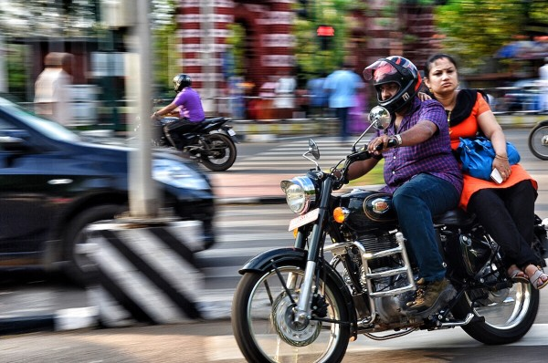 TrivandrumRdBusy streets of Trivandrum