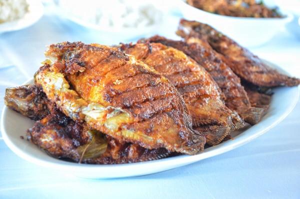 Fried Karimeen Fish