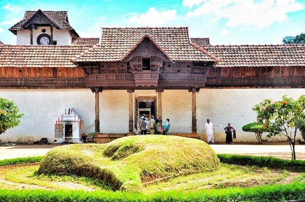 Padmanabhapuram Palace Entrance