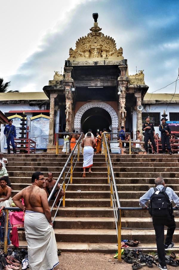 Restricted Entrance of Padmanabhaswamy Temple