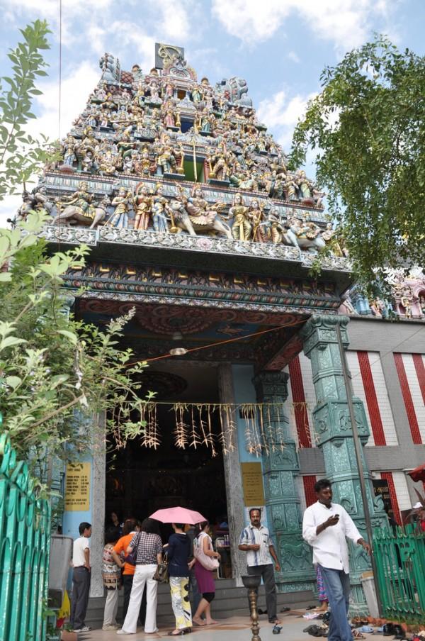 Sri Veeramakalimman Temple in Little India Singapore