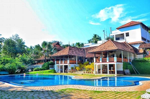 The Travancore Heritage Resort Poolside
