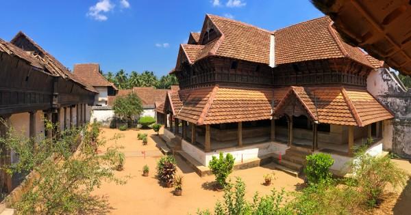 The wooden Padmanabhapuram Palaceof the Maharaja inTrivandrum