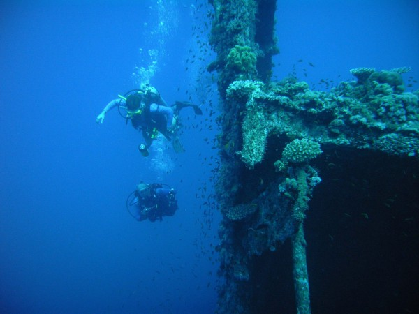 Diving in Subic Bay photo by Boardwalkdivecentre.com