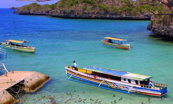 Hundred Islands in Alaminos Pangasinan by Joseph Dayo via Flickr