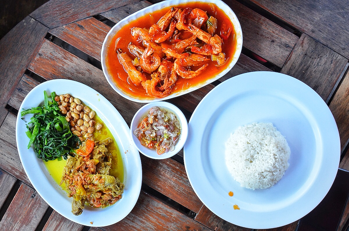 Where to Eat in Bali: Lunch at Plengkung Restaurant