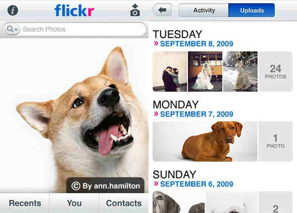 Official Flickr iPhone App
