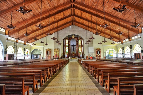 Inside St Dominic Cathedral
