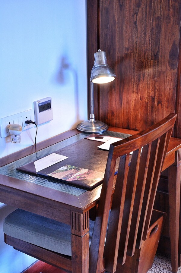 My Work Desk atEighth Bastion Hotelin Fort Kochi,Kerala