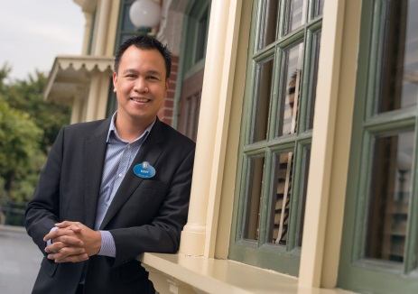 Rony Fortich, Musical Director of Hong Kong Disneyland Resort