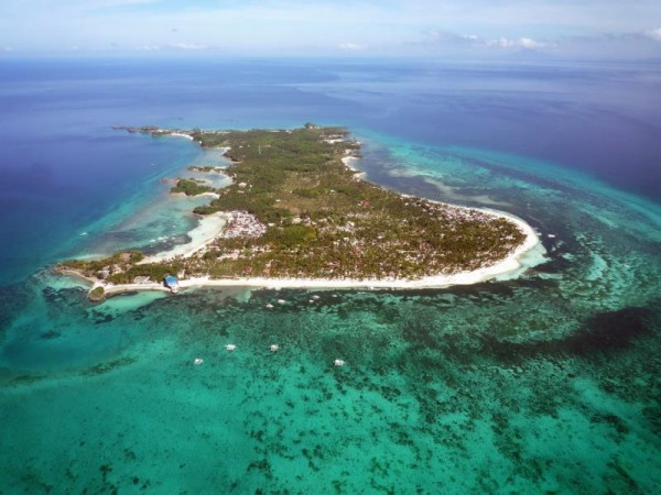 Aerial View of Malapascua Island