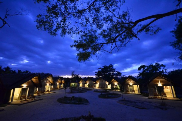 """AtBlue Palawan Beach Resort, Blue Hour means """"Party Time"""""""