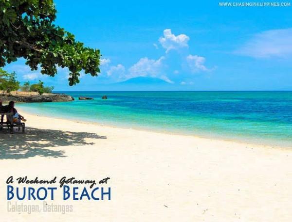 Burot Beach in Calatagan Batangas photo by www.ChasingPhilippines.com