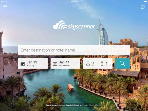 Browse Skyscanner App free with your Smart Sim