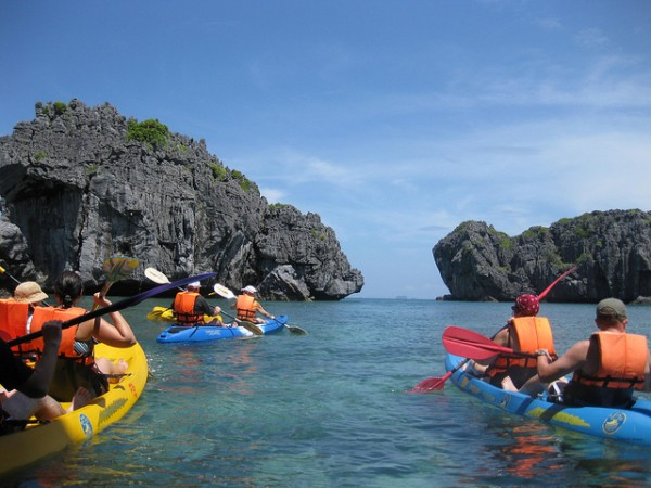 Kayaking in Koh Samui by Katie Sadler via Flickr