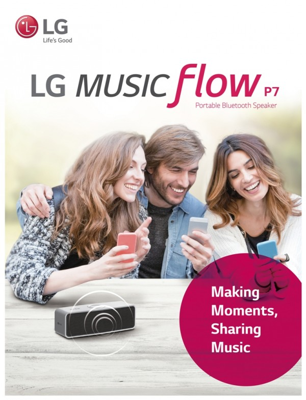 Portable Bluetooth Speaker from LG