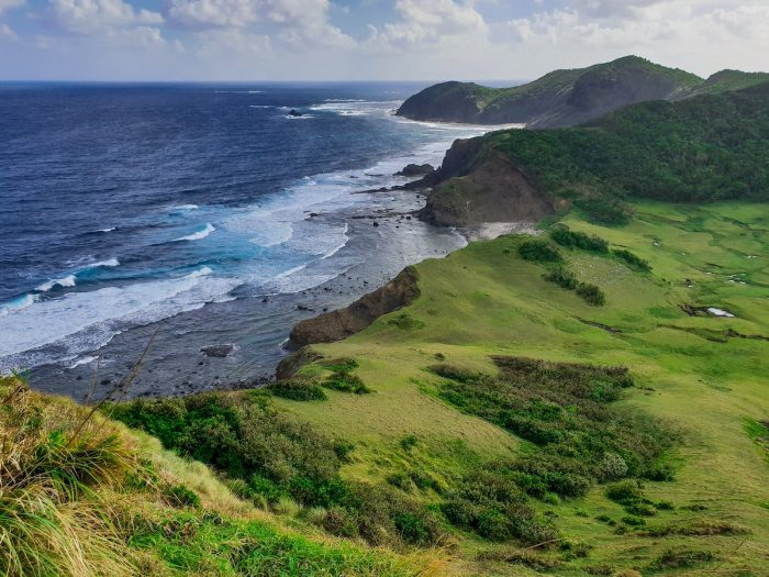 Scenic view from Cape Engaño, the northern point of Palaui Island by Rex Verances via Unsplash