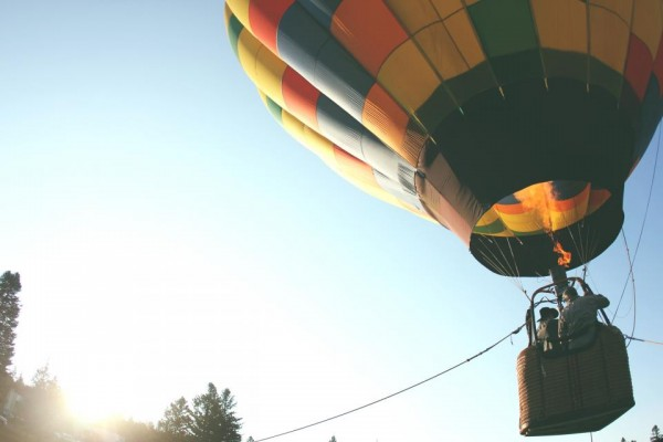 Try Hot Air Balloon Ride