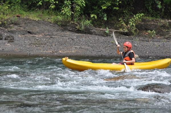 White Water River Kayaking inTibiao River