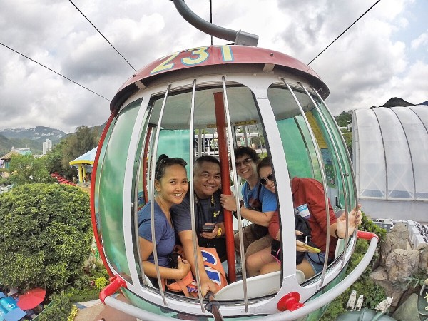 Cable Car in Ocean Park