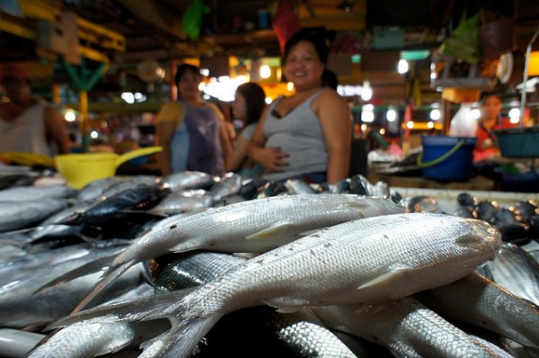 Fish Market in Davao by Rajesh Pamnani via Flickr