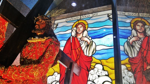 Image of Jesus Nazareno in Sta Cruz Church