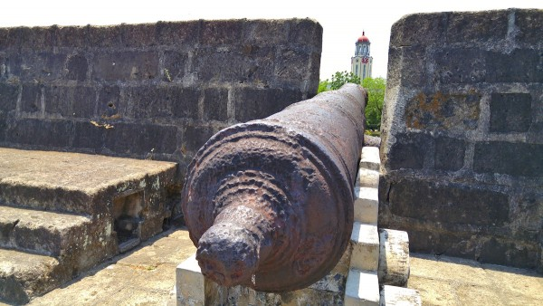 Spanish Canons that used to protech the Walled City of Manila
