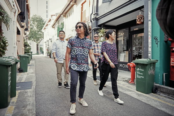 Up Dharma Down in Haji Lane