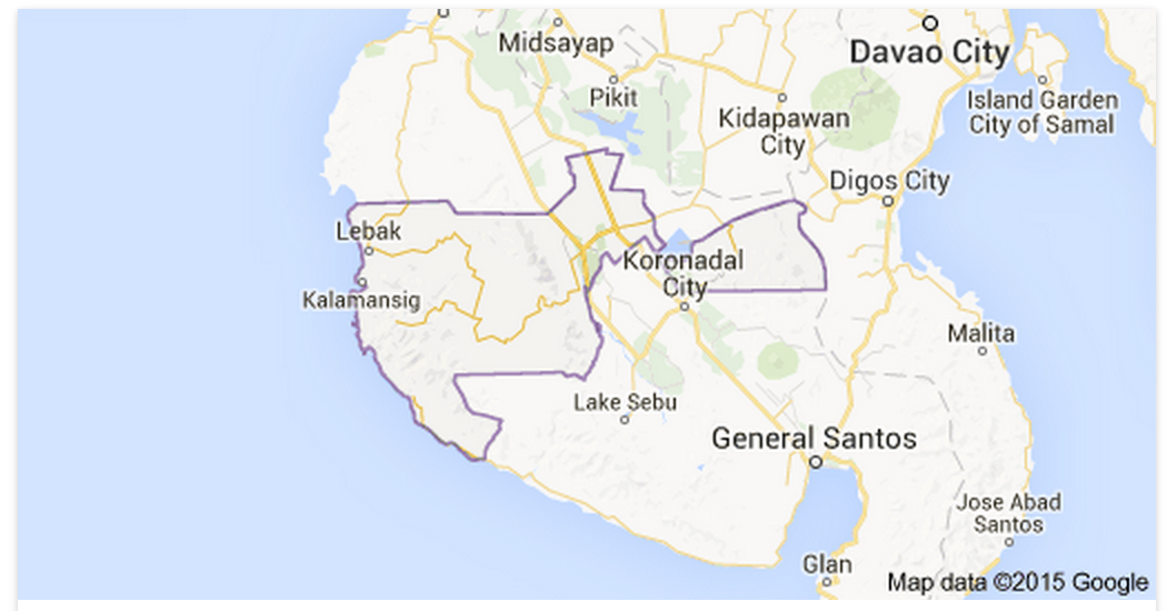 Map of sultan kudarat province by google map out of town blog map of sultan kudarat province by google map gumiabroncs Gallery