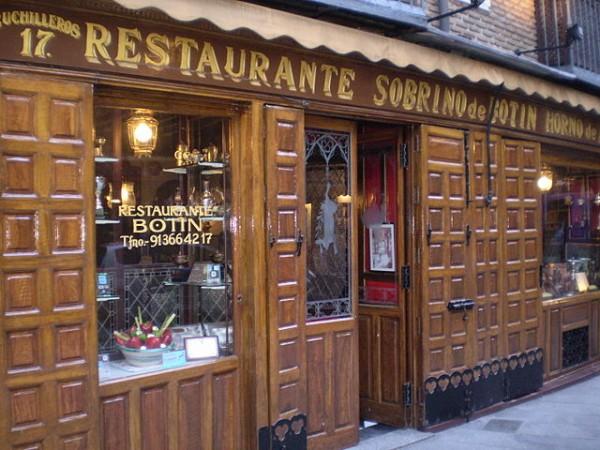 Restaurante Sobrino de Botin in Mardrid