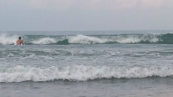 Sabang Beach's waves