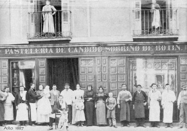 Sobrino de Botin circa 1887 - Botin Restaurante Old Photo