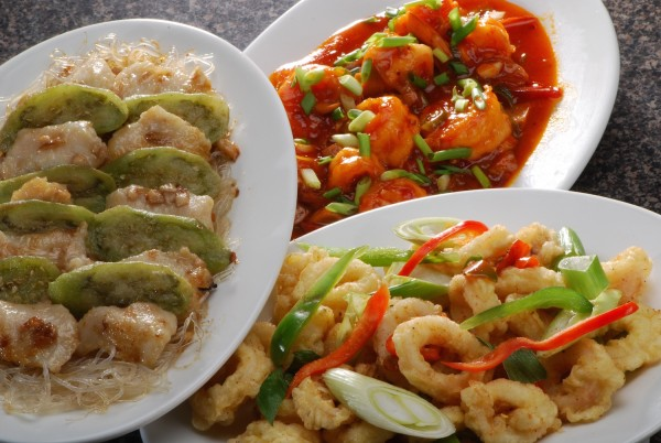 Classic Savory seafood dishes