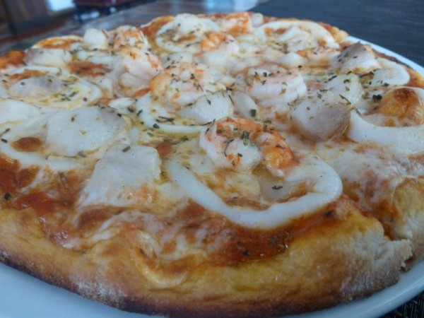 Seafood Pizza (photo from Pasta King FB)
