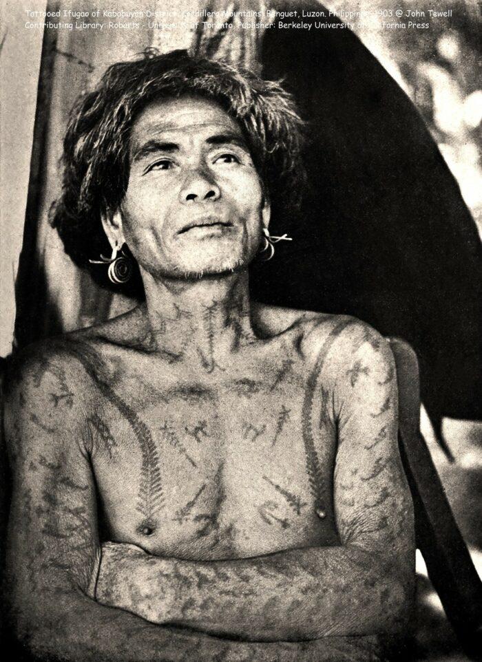 Tattooed Ifugao of Kababuyan District