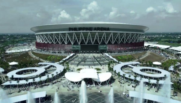 The Philippine Arena by Crossleague - Own work. Licensed under CC BY-SA 4.0 via Wikimedia Commons