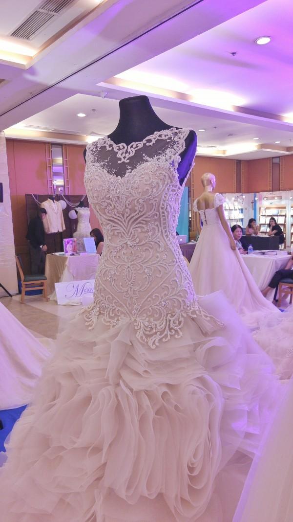 Elegant Wedding Dress made by Filipino Designers