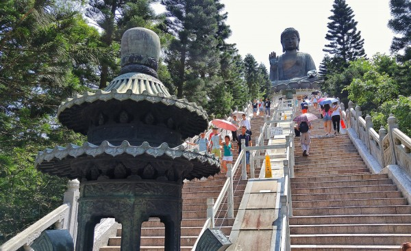 Tian Tan Buddha in Lantau Island