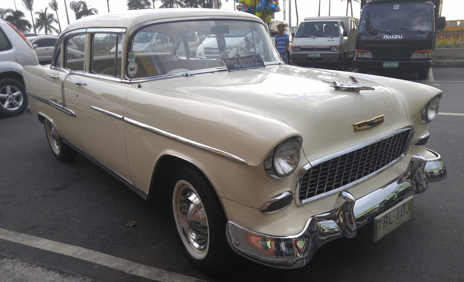 Vintage Bridal Car for Rent in Manila - Out of Town Blog