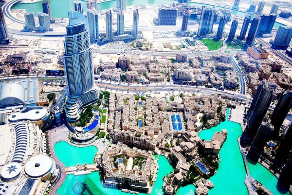 Dubai Birds Eye View